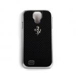 Чехол для телефона Ferrari GT Carbon Hardcase FECBSIHCS4BL