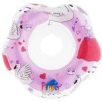 Круг на шею Roxy Kids Flipper Swan Lake Music розовый