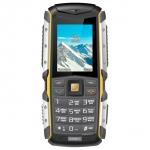 Мобильный телефон Texet TM-512R, черный-желтый
