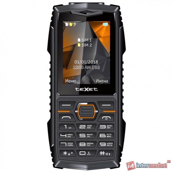Мобильный телефон Texet TM-519R черный-красный