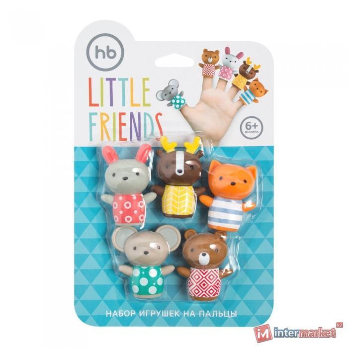 Набор игрушек Happy Baby для ванной LITTLE FRIENDS