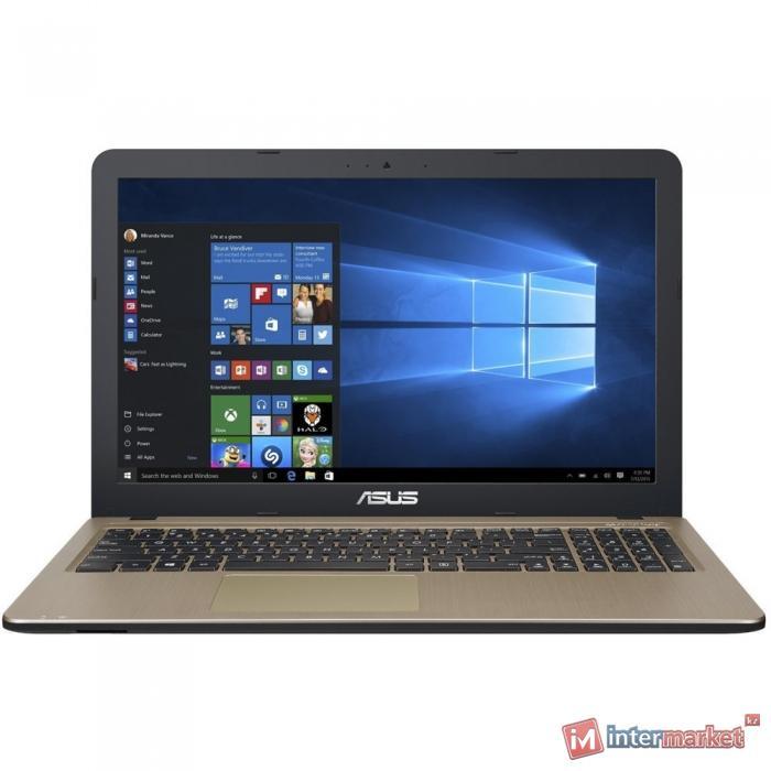 Ноутбук ASUS X540UV-DM023T (Core i7-7500U/15.6 FHD/8GB/1TB/GeForce 920MX 2GB/DVD/Windows 10/Chocolate Black)