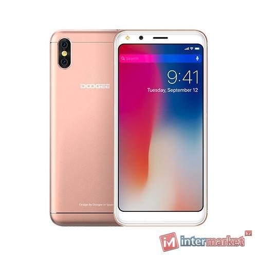 Смартфон DOOGEE X53 Pink