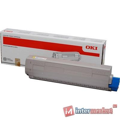 Тонер-картридж OKI TONER-Y-C831/841-10K-NEU