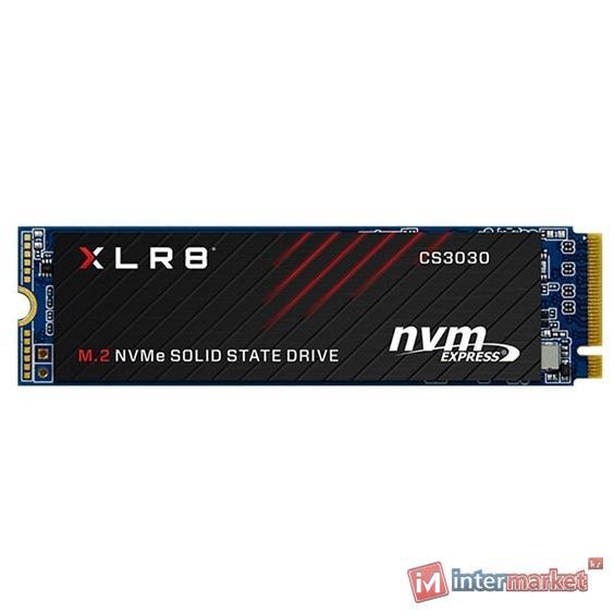 Твердотельный накопитель 250Gb SSD PNY CS3030 M.2 PCIe NVMe R3050Mb/s W1050MB/s M280CS3030-250-RB