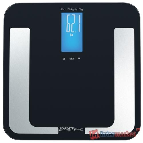 Весы напольные Scarlett SL-BS34ED40, черный